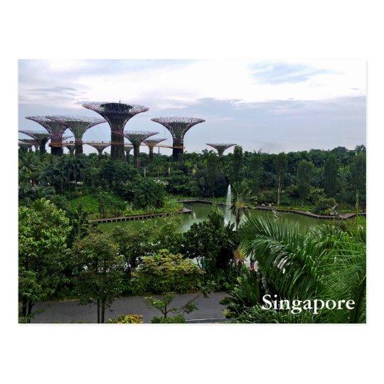 Jardines de Singapur por la bahía Postal