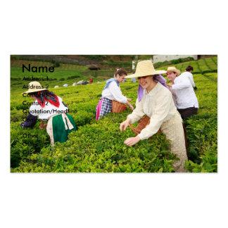Jardines de té de Oporto Formoso Tarjetas De Visita