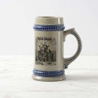 Jarra De Cerveza Aguamiel de la bebida - alabanza Odin