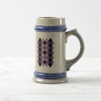 Jarra De Cerveza Argyle púrpura