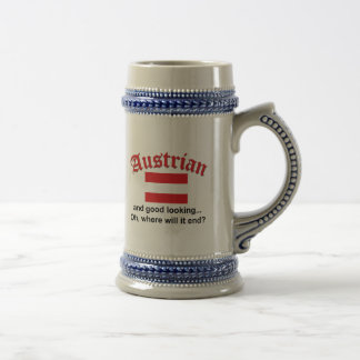 Jarra De Cerveza Austriaco apuesto