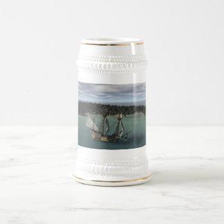 Jarra De Cerveza Bahía de la nave