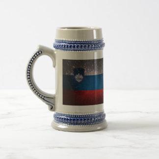Jarra De Cerveza Bandera de Eslovenia