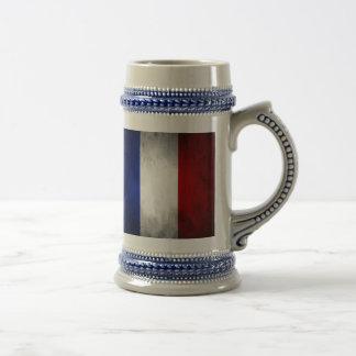 Jarra De Cerveza Bandera de Francia
