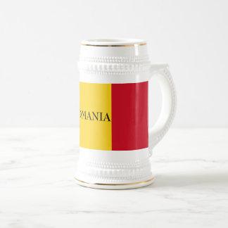 Jarra De Cerveza Bandera de Rumania