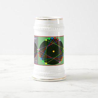 Jarra De Cerveza Cerveza afortunada Stein del color