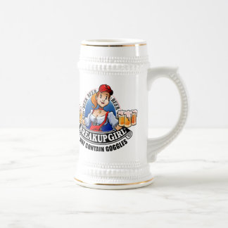 Jarra De Cerveza Cerveza Stein del chica de la desintegración (*May