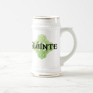 Jarra De Cerveza Cerveza Stein del irlandés Slainte