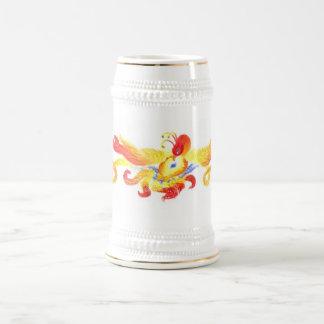 Jarra De Cerveza Corazón Stein de Phoenix