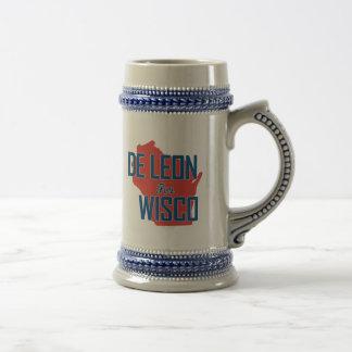Jarra De Cerveza De León para Wisco Stein