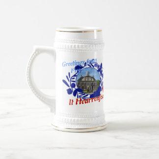 Jarra De Cerveza Delft Fryslân azul él cerveza Stein de Hearrenfean