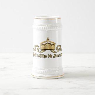 Jarra De Cerveza Dios protege la emperatriz
