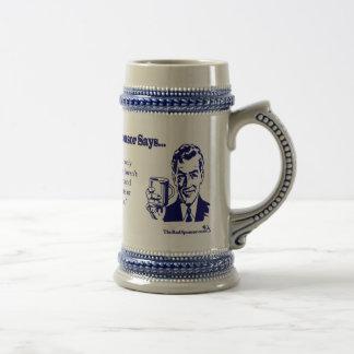 Jarra De Cerveza El café es su solamente amigo verdadero…