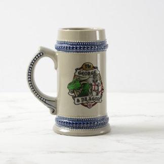 Jarra De Cerveza El George y el dragón Stein