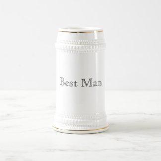 Jarra De Cerveza El mejor hombre Stein