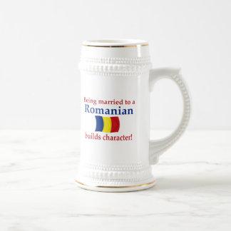 Jarra De Cerveza El rumano construye el carácter