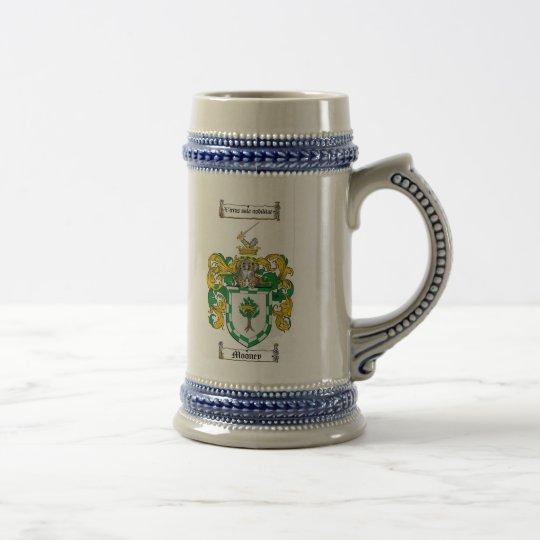 Jarra De Cerveza Escudo de armas Stein de Mooney