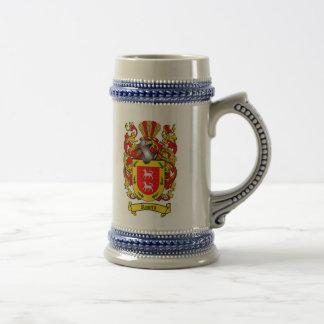 Jarra De Cerveza Escudo de armas Stein de Romero