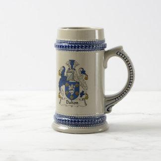 Jarra De Cerveza Escudo de armas Stein - escudo de Dalton de la