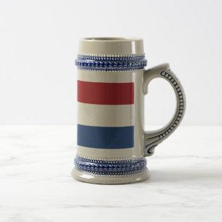 Jarra De Cerveza Furgoneta Nederland - bandera de Vlag de los
