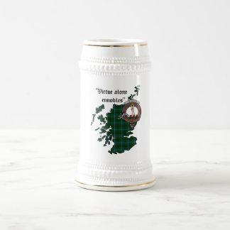 Jarra De Cerveza Insignia Stein del clan de Henderson