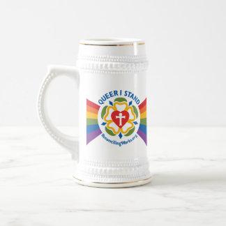 """Jarra De Cerveza """"Maricón coloco"""" el stein"""