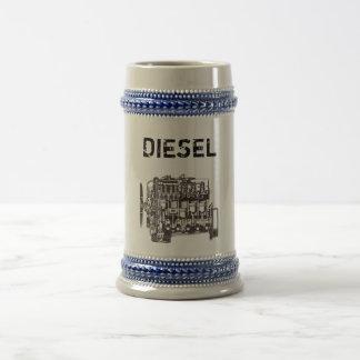 Jarra De Cerveza Mercedes diesel Stein