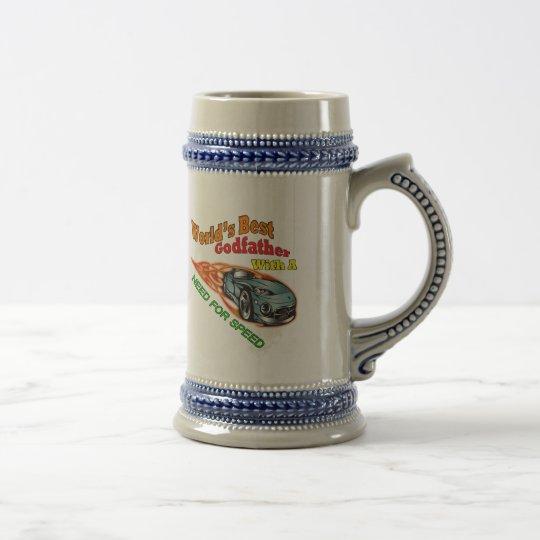Jarra De Cerveza Necesidad del padrino de regalos del día de padre