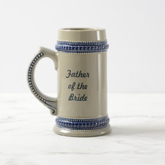 Jarra De Cerveza Padre de la cerveza Stein de la novia