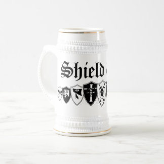 Jarra De Cerveza Pared del escudo
