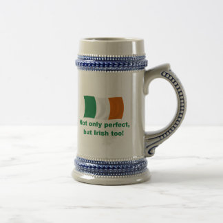 Jarra De Cerveza Perfecto e irlandés