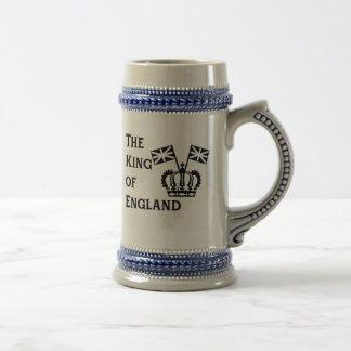 Jarra De Cerveza Rey de la cerveza Stein de Inglaterra