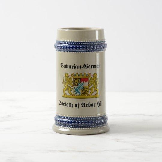 Jarra De Cerveza Sociedad Bávaro-Alemana de la colina del cenador