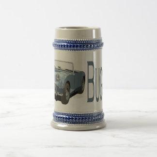 Jarra De Cerveza Sprite azul de Austin Healey