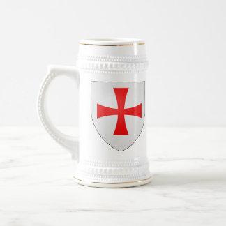 Jarra De Cerveza Stein de Templar de los caballeros