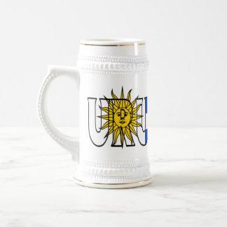 Jarra De Cerveza Uruguay Stein