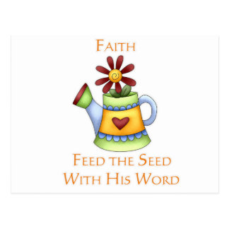 Jarra de fe postales