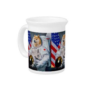 Jarra Dux perro-lindo del astronauta-dux-shibe-dux del