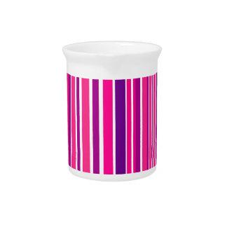 Jarra Elementos de bambú rosados del diseño