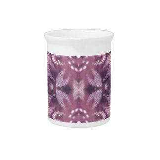 Jarra Floral artístico de la lavanda elegante bonita de