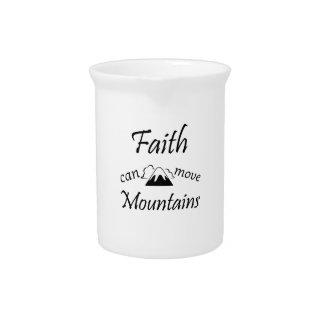Jarra La fe puede mover las montañas