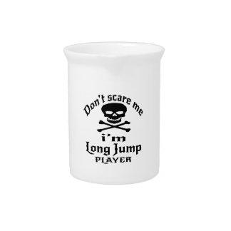 Jarra No me asuste que soy jugador del salto de longitud
