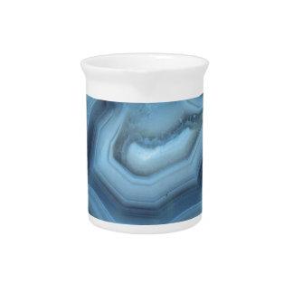 Jarra Para Bebidas Ágata azul