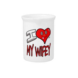 Jarra Para Bebidas Amo mi Wifey