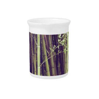 Jarra Para Bebidas Árboles de bambú