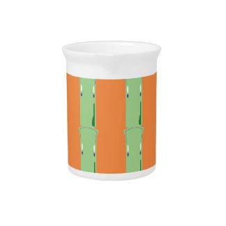 Jarra Para Bebidas Bio elementos de bambú del diseño