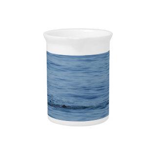 Jarra Para Bebidas Buceador del mar en nadada del juego del equipo de