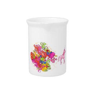 Jarra Para Bebidas El unicornio Fart