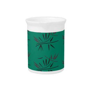 Jarra Para Bebidas Elementos de bambú de Eco del diseño