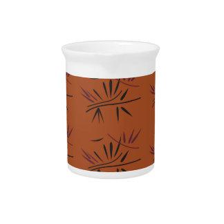 Jarra Para Bebidas Elementos Ethno de bambú ECO del diseño
